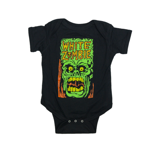 "White Zombie ""Green Monster"" Onesie"
