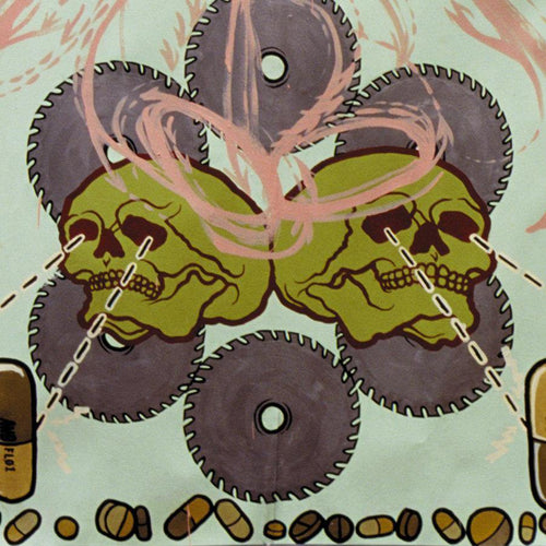 "Agoraphobic Nosebleed ""Frozen Corpse Stuffed With Dope"" Reissue 12"""