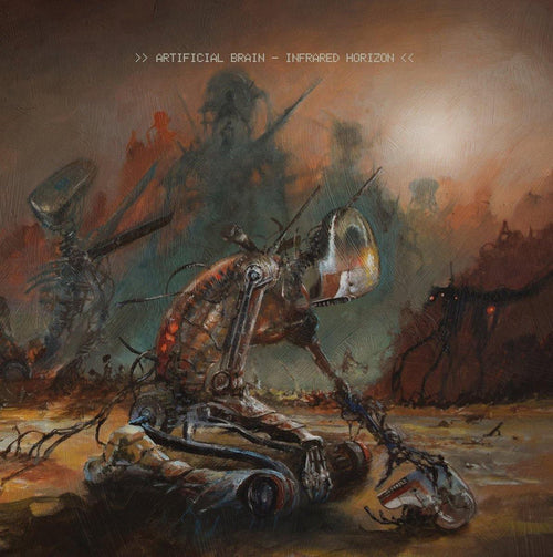 "Buy – Artificial Brain ""Infrared Horizon"" 12"" – Band & Music Merch – Massacre Merch"