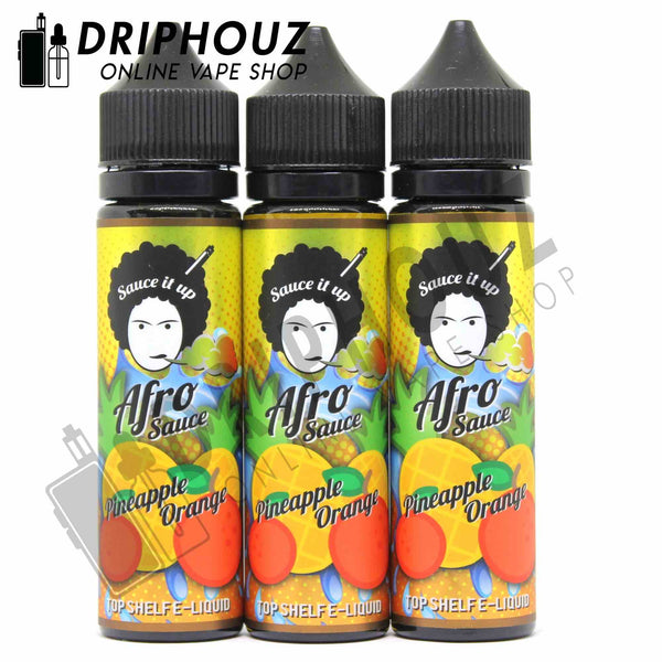 Afro Sauce Pineapple Orange