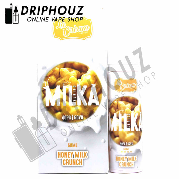 La Cream Milka Honey Milk Crunch