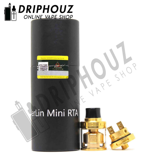 Authentic Augvape Merlin Mini RTA - Driphouz.com l No.1 Online Malaysia Vape Store