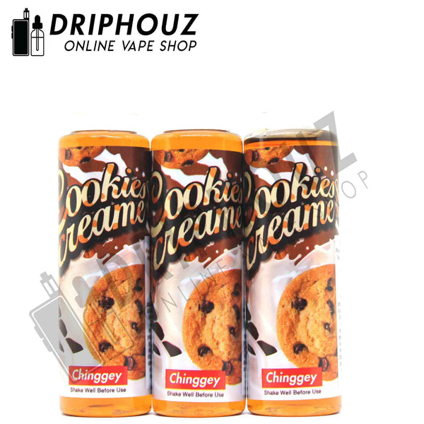 Chinggey Cookies & Creame - Driphouz.com l No.1 Online Malaysia Vape Store
