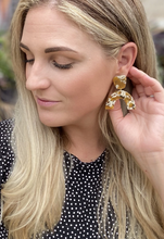 Mustard Caroline Earrings