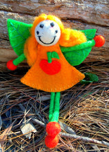 Miss pumpkin faery- large