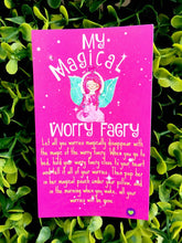 My magical worry faery