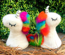 Rainbow unicorn little hands puppet