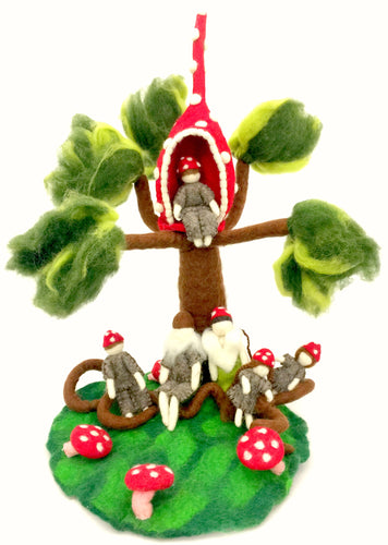 The Gnome family tree set