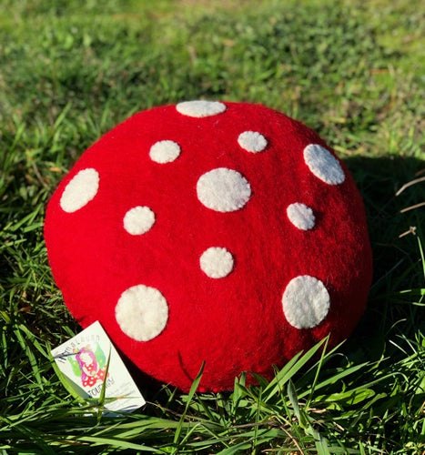 Toadstool Cushion