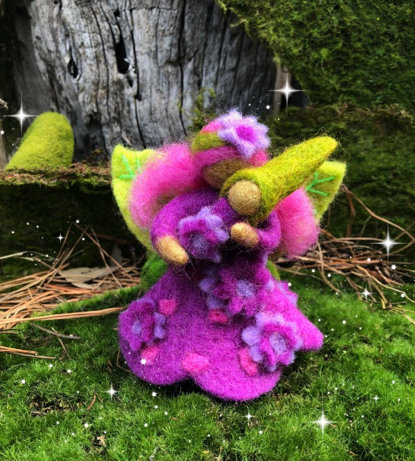 Amethyst faery mother-small