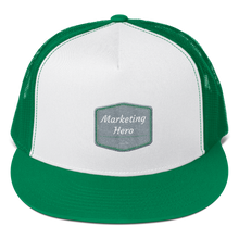 Load image into Gallery viewer, Marketing Heroes Wear Trucker Caps