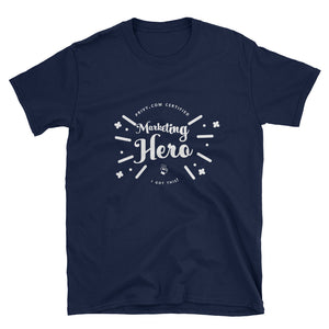 Marketing Hero Certified Short-Sleeve Unisex T-Shirt