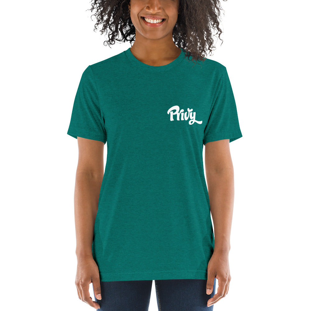 Short sleeve t-shirt with small logo