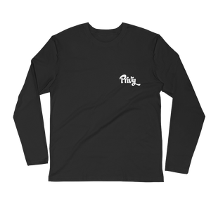Ryan Long Sleeve Fitted Crew