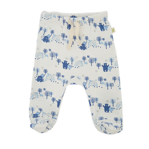 Arctic Dream Leggings With Feet - Little Branches Boutique