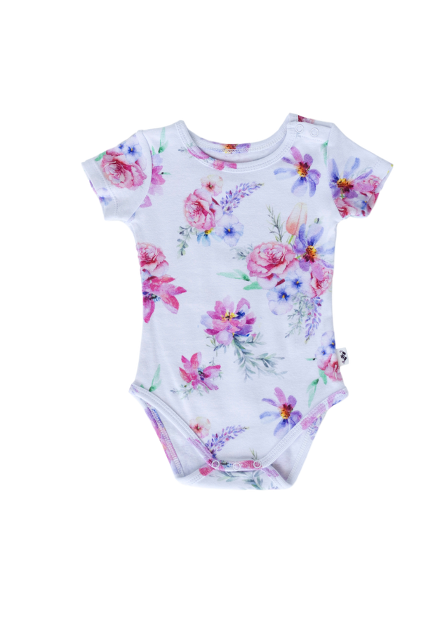 Ava Changes The World Short Sleeve Onesie - Little Branches Boutique