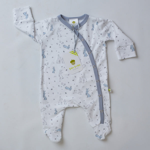 Sketched Bunnies Onesie - Little Branches Boutique
