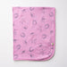 Pink Woodland Swaddle Blanket - Little Branches Boutique