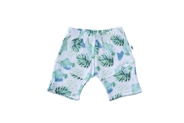 Leafy Adventures Shorts - Little Branches Boutique