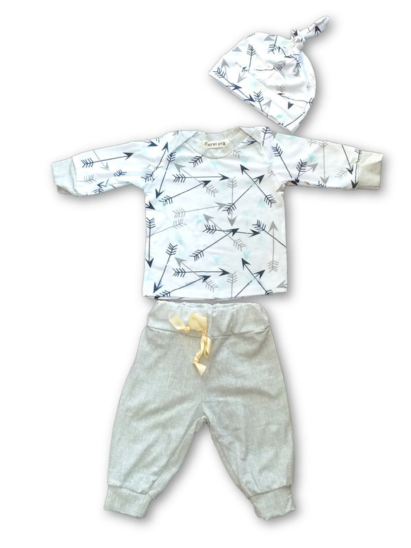 Shooting Arrows 3 Piece Set - Little Branches Boutique