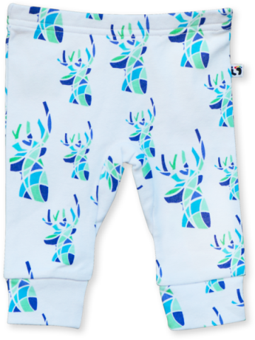 Blue Deer Leggings - Little Branches Boutique