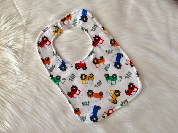 Construction Baby Bib - Little Branches Boutique