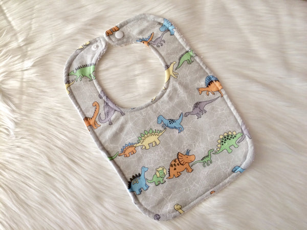 Dinosaur Baby Bib - Little Branches Boutique