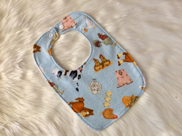 Farm Yard Baby Bib - Little Branches Boutique