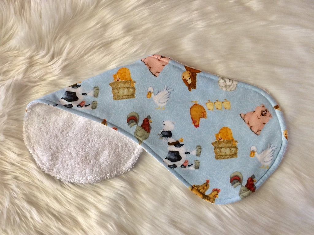 Farm Yard Burp Cloth - Little Branches Boutique