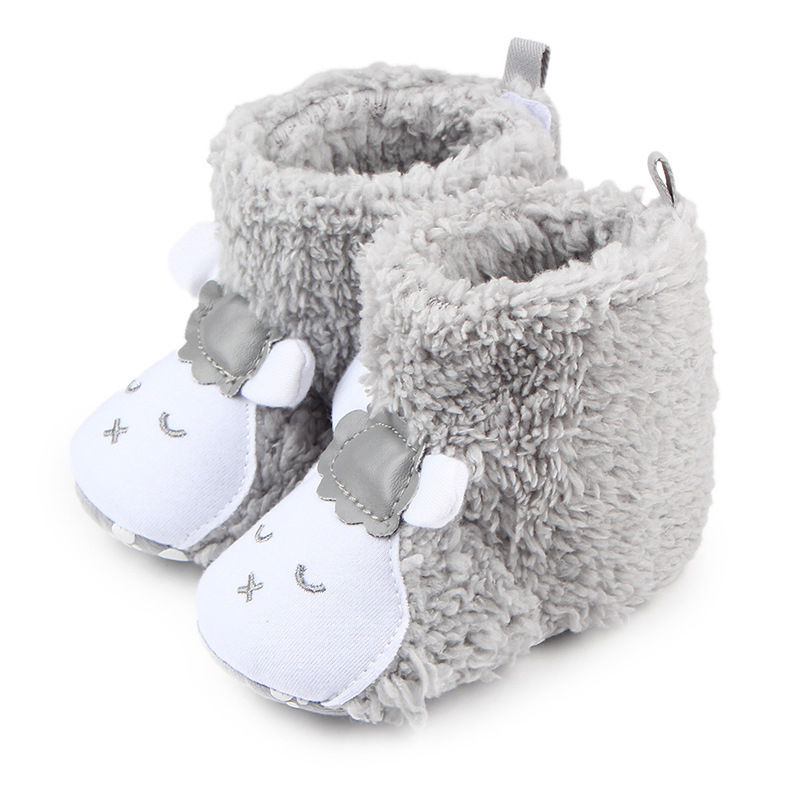 Grey Sheep Slippers - Little Branches Boutique