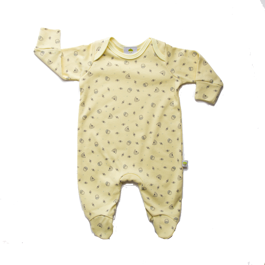 Yellow Honey Bee Onesie - Little Branches Boutique
