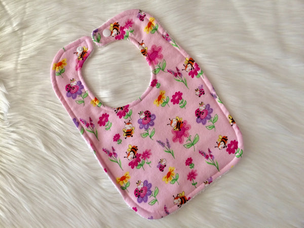 Ladybug Garden Bib - Little Branches Boutique