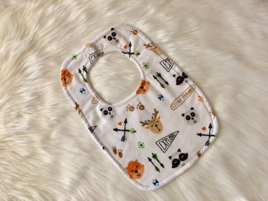 Little Explorer Baby Bib - Little Branches Boutique