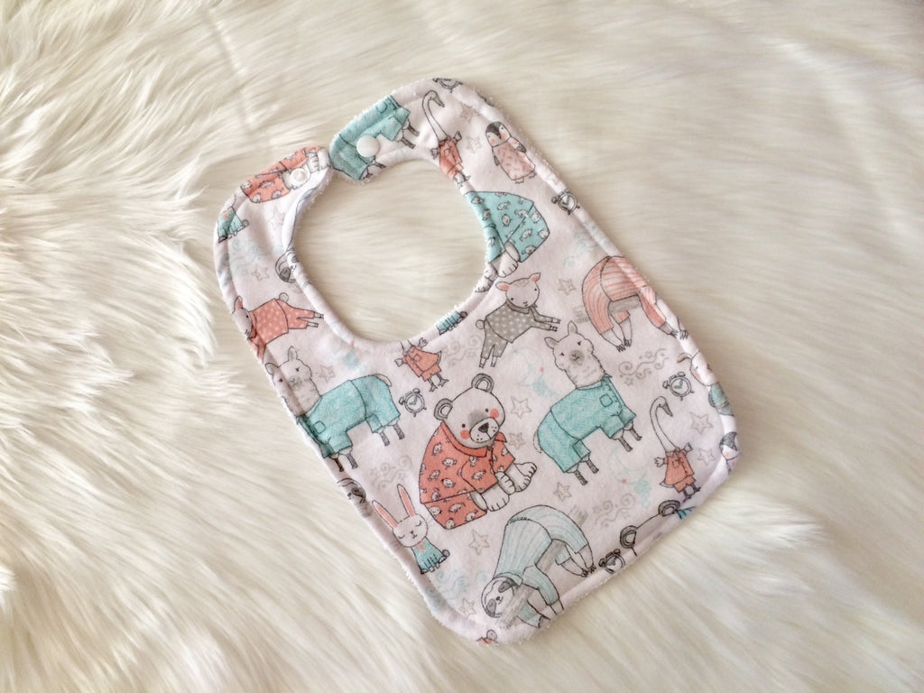 Pyjama Party Bib - Little Branches Boutique
