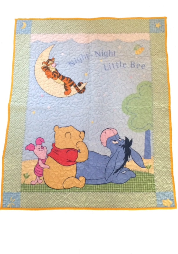 Pooh & Friends Baby Quilt - Little Branches Boutique