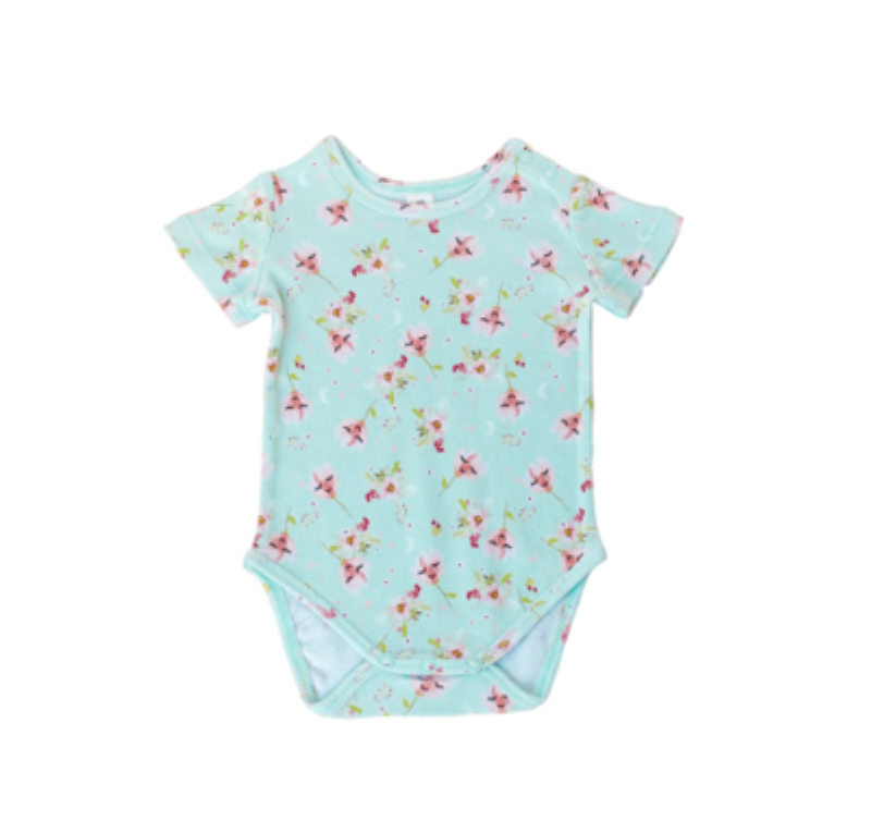 Tulip Short Sleeve Onesie - Little Branches Boutique