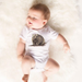 Walt The Wombat White Onesie - Little Branches Boutique