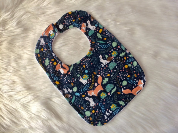 Woodland Friends Baby Bib - Little Branches Boutique