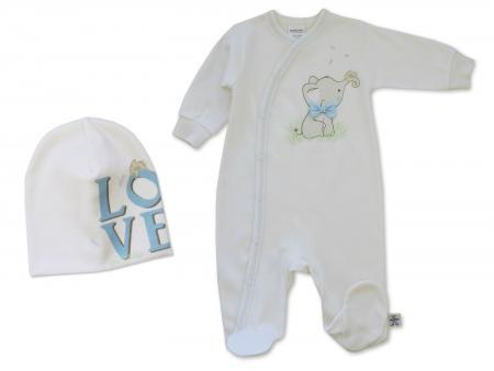 Blue Elephant Onesie - Little Branches Boutique