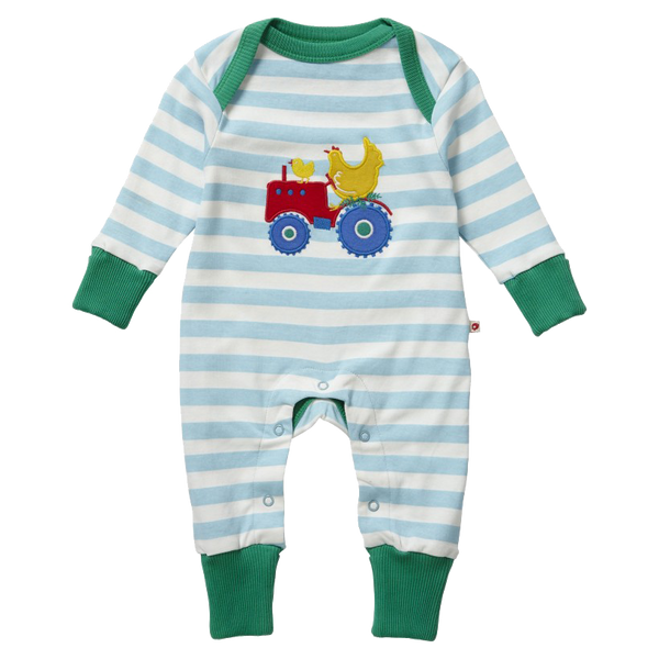 Farm Tractor Onesie - Little Branches Boutique