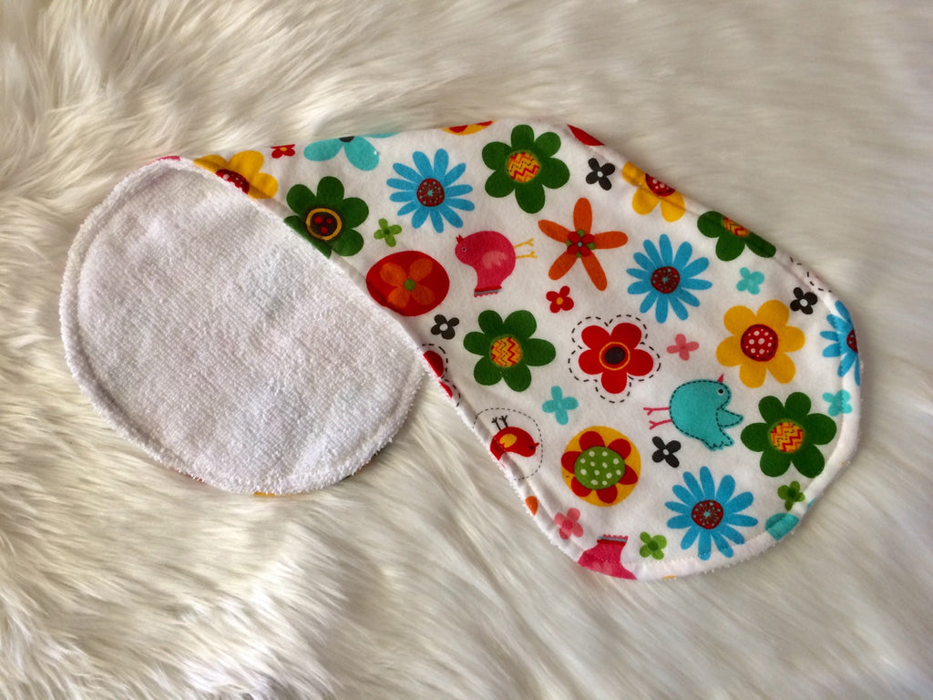 Floral Burp Cloth - Little Branches Boutique