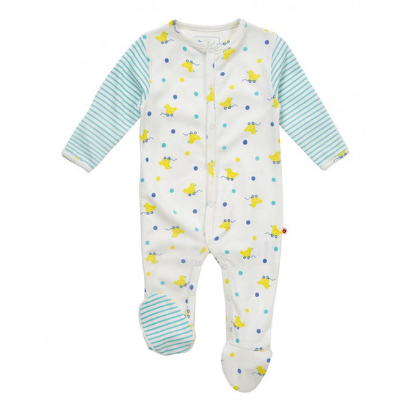 Toy Duck Footed Onesie - Little Branches Boutique