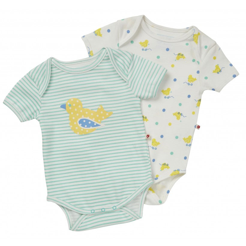 2 Pack Toy Duck Onesies - Little Branches Boutique