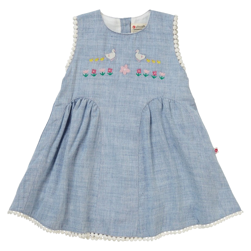 Chambray Dress - Little Branches Boutique