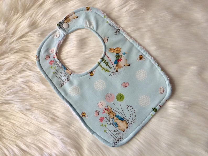 Peter Rabbit Baby Bib - Little Branches Boutique