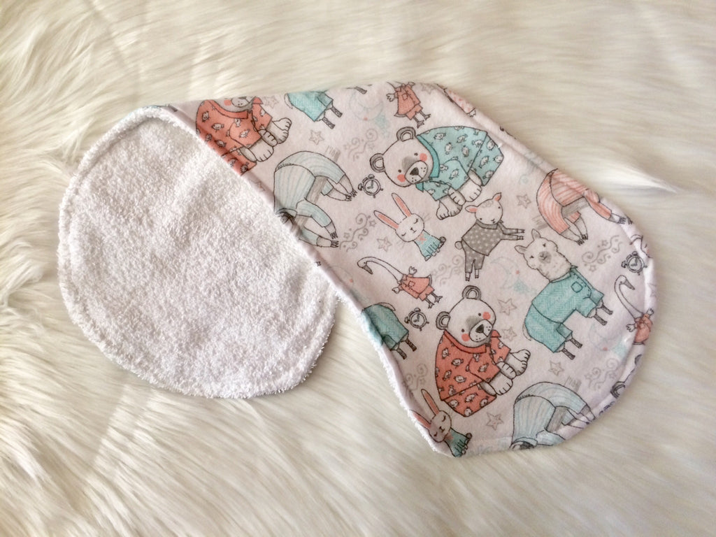 Pyjama Party Burp Cloth - Little Branches Boutique
