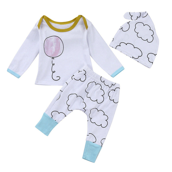 Up In the Clouds 3 Piece Set - Little Branches Boutique