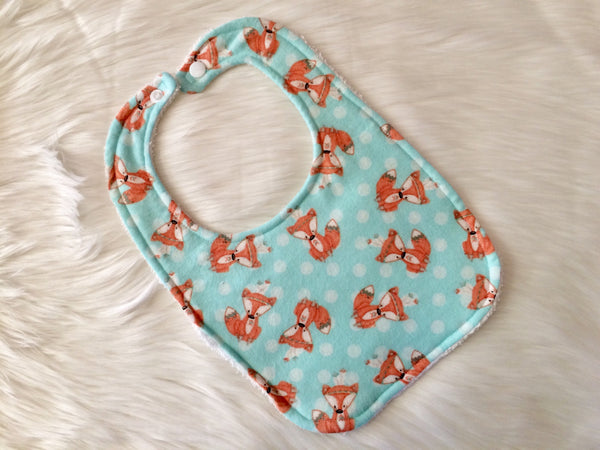 Tribal Fox Bib - Little Branches Boutique