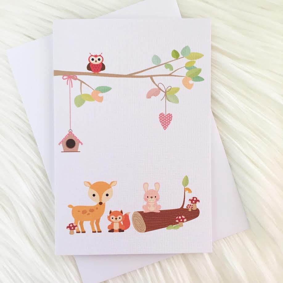 Woodland Friends Greeting Card - Little Branches Boutique