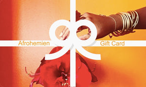 Afrohemien Gift Card